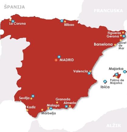 Letovanje Spanija 2020 Cene Smestaj